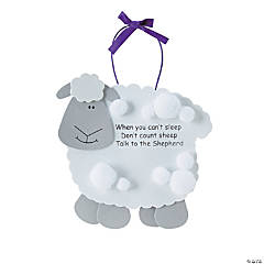 """Talk To The Shepherd"" Lamb Craft Kit"