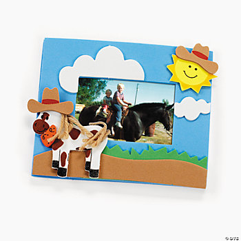 Horse Photo Frame Magnet Craft Kit