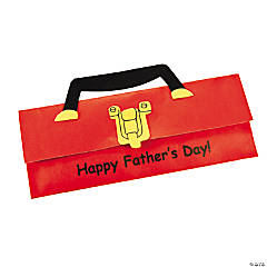 Father's Day Paper Toolbox Card Craft Kit