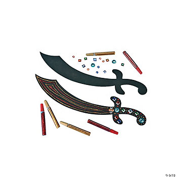 Pirate Sword Craft Kit