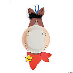 Paper Plate Horse Craft Kit