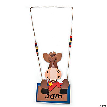 Horse Name Tag Necklace Craft Kit