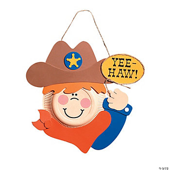Paper Plate Cowboy Craft Kit