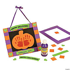Foam Handprint Halloween Keepsake Craft Kit