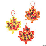 Tissue Paper Leaf Craft Kit
