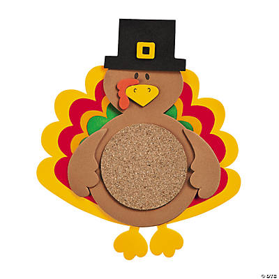 Turkey Coaster Craft Kit