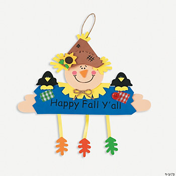 """Happy Fall Y'all"" Sign Craft Kit"