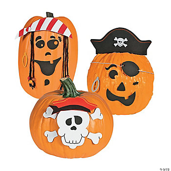 Pirate Pumpkin Decorating Craft Kit