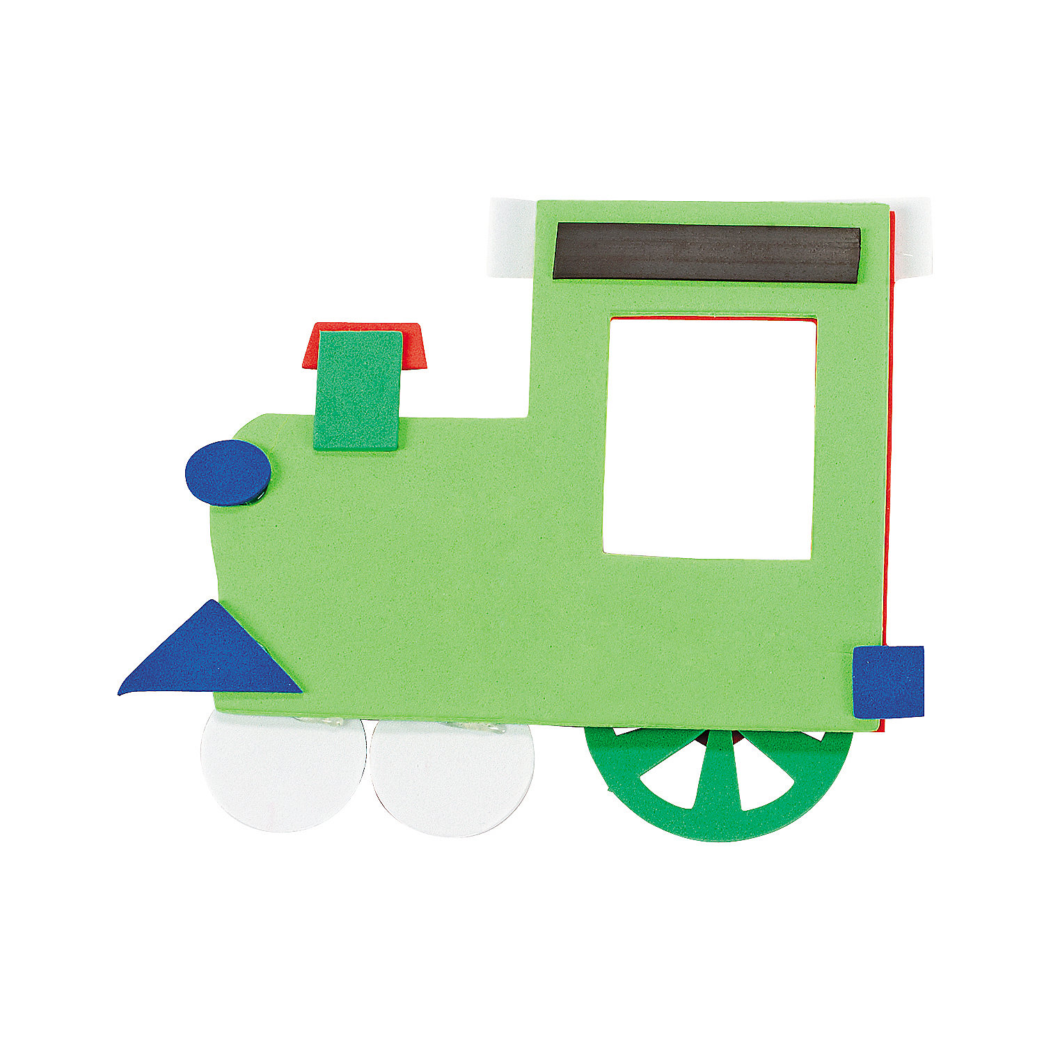 Christmas Train Picture Frame Magnet Craft Kit Oriental
