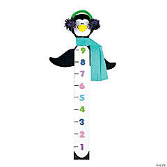 Penguin Snow Measuring Stick Craft Kit
