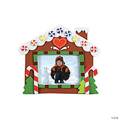 Gingerbread House Photo Frame Magnet Craft Kit