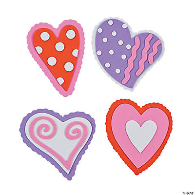 Valentine Heart Magnet Craft Kit