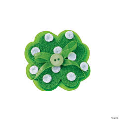 Shamrock Pin Craft Kit