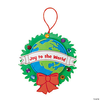 World Ornament Craft Kit