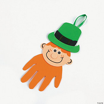 Handprint Leprechaun Craft Kit