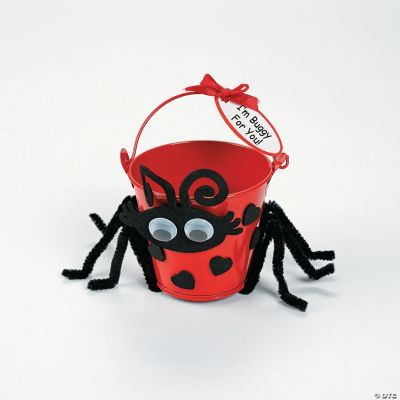 Lady Love Bug Bucket Craft Kit