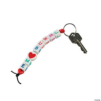 """Jesus Loves Me"" Key Chain Craft Kit"