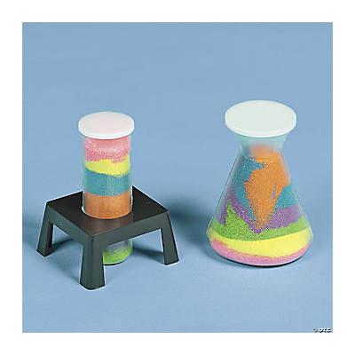 Science Beaker Sand Art Bottles Oriental Trading