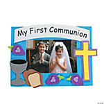 First Communion Photo Frame Magnet Craft Kit