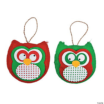 Owl Ornament Craft Kit