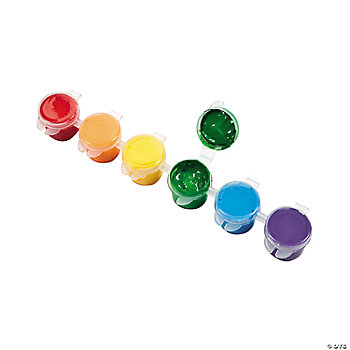 Rainbow Acrylic Paint Strips
