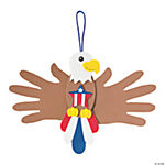 Handprint Patriotic Eagle Craft Kit