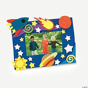 Cosmic Adventure Photo Frame Magnet Craft Kit