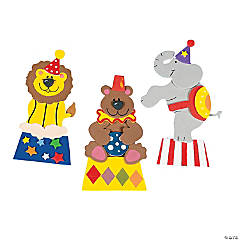 Carnival Animal Magnet Craft Kit
