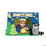 Camp Raccoon Photo Frame Magnet Craft Kit