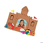 Sand Castle Photo Frame Magnet Craft Kit