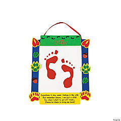 Footprint My Tracks Keepsake Craft Kit