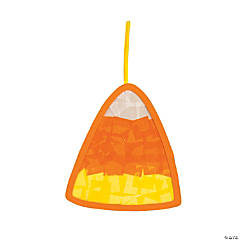 Tissue Paper Candy Corn Craft Kit