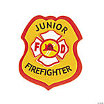 """Junior Firefighter"" Badge Craft Kit"