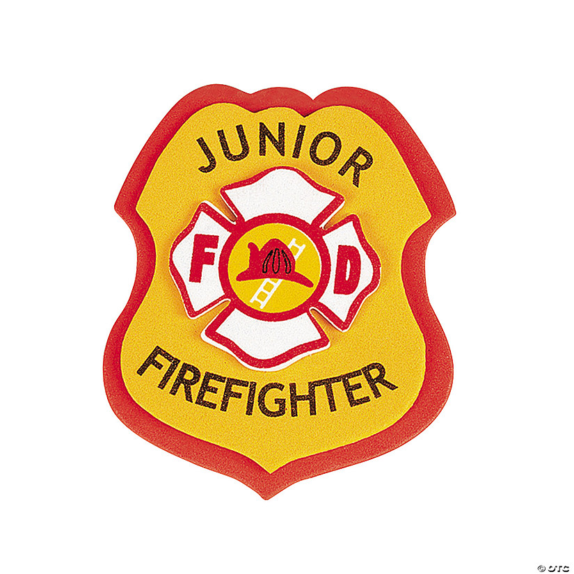 �junior firefighter� badge craft kit discontinued