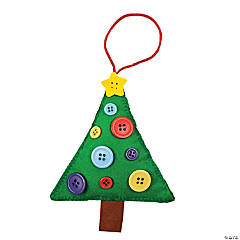 Button Tree Ornament Craft Kit