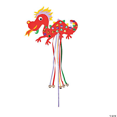 Chinese New Year Wand Craft Kit