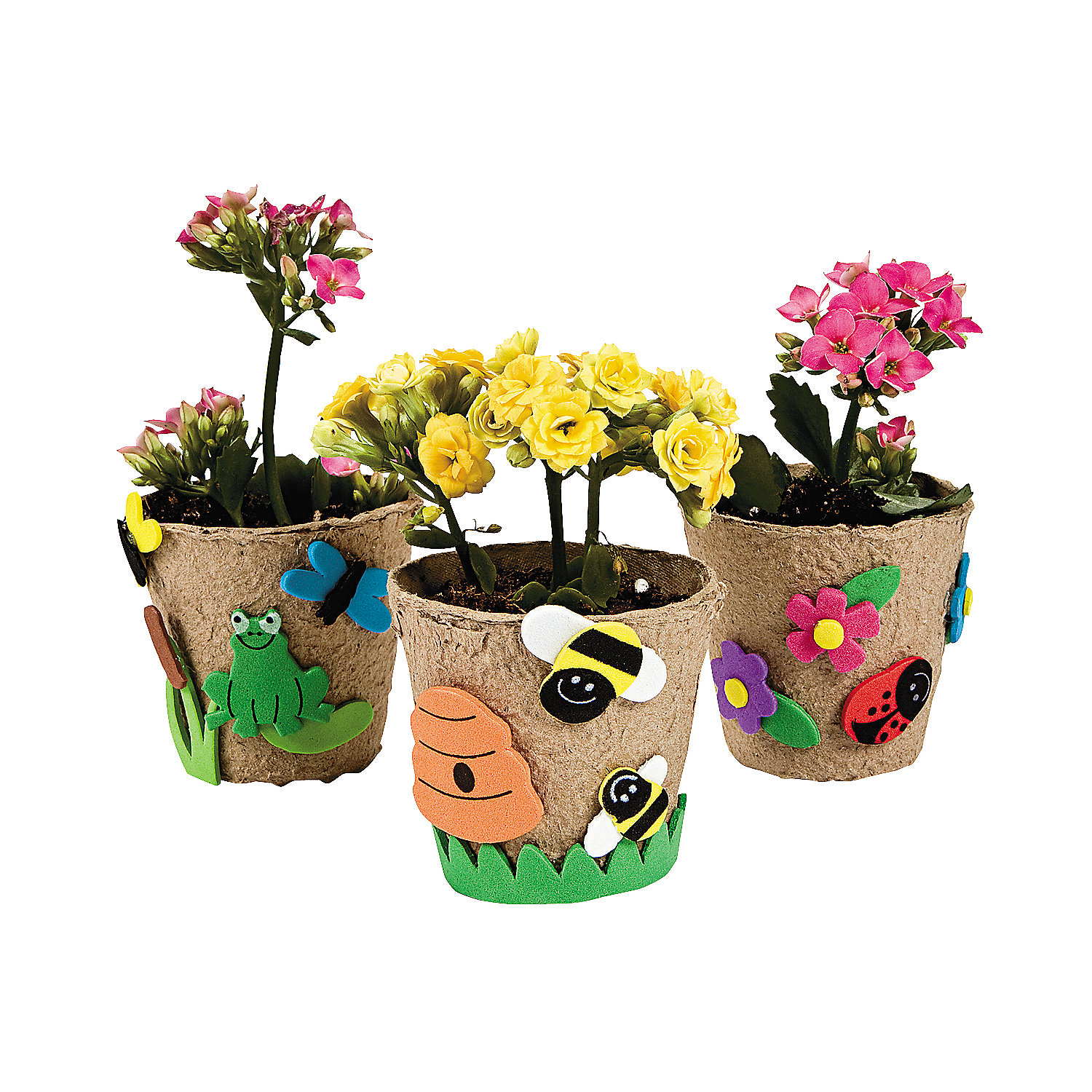 garden pot craft kit oriental trading