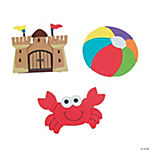 Day At The Beach Magnet Craft Kit