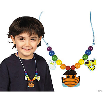 Beaded Noah's Ark Necklace Craft Kit