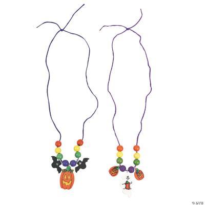 Halloween Necklace Craft Kit
