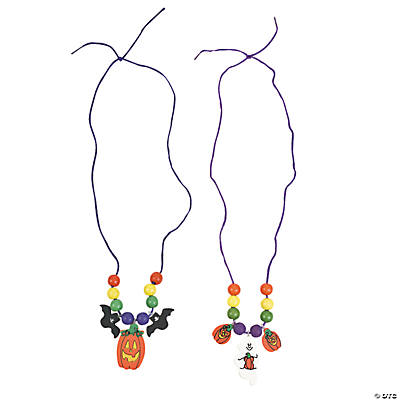 Halloween Necklace Craft Kit