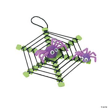 Spiderweb With Spiders Craft Kit