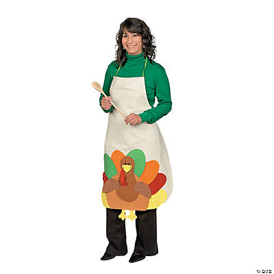 Adult Turkey Apron Craft Kit