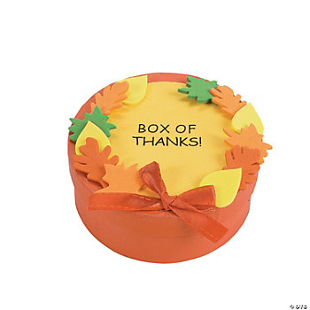 """Box Of Thanks"" Craft Kit"