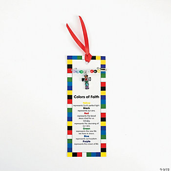 """Colors Of Faith"" Pin Craft Kit"