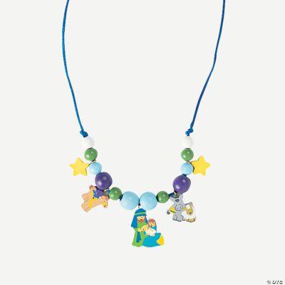 Beaded Nativity Necklace Craft Kit