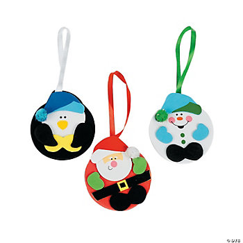 Holiday Character Ornament Craft Kit
