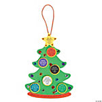 """Colors of Faith"" Christmas Tree Craft Kit"