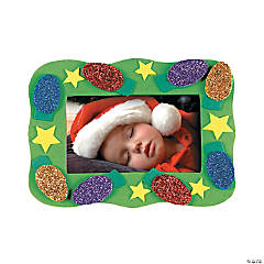 Christmas Bulb Photo Frame Magnet Craft Kit