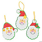 Simple Santa Ornament Craft Kit